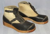 Scarce WW2 Period German Soldier Tropical/Concentration Camp Guard/Worker Boots-Private Purchase