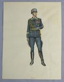 Original Artwork- Johnson's Edged Weapons Reference Book Vol. II-Luftwaffe General