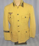 Rare 1960's Afrika Korp Uniform By Western Costume Co. From The TV Show