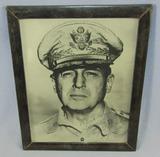 Original General Douglas MacArthur Signed Photo-Tokyo 1946-Period Sterling Frame