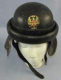 WW2 Period Spanish Army Tanker/Dispatch Rider Leather Helmet