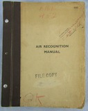 WW2 Period SECRET Commanding General ETO Air Recognition Manual-Panzer-Vehicles
