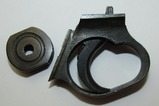 2pcs-WW2 Japanese Type 14 Nambu Extended Trigger Guard And Cocking Ferrule