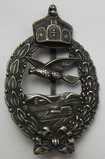RARE! WW1 Prussian Commemorative Pilot's Badge By Meybauer-.925 Hallmarked