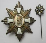 "Scarce WW1/Prussian ""Feld-Ehrenzeichen"" Battlefield Honor Badge W/Stickpin"