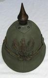 WW1 Prussian Canvas/Tropical Spike Helmet-Colonial?