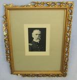 ca. late 1800's Sepia Tone Portrait Of William Sampson-Framed