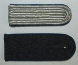 2pcs- WW2 German Luftwaffe Medical Officer/EM Shoulder Boards