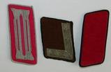 3pcs-WW2 German Single Collar Tabs