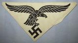 WW2 Luftwaffe  Bevo Embroidered Sports Shirt Insignia
