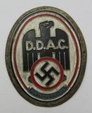 WW2 German Automobile Assoc. (D.D.A.C.) Metal Plaque Device