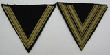 2pcs-Waffen SS Uniform Sleeve Stripes