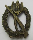 Infantry Assault Badge In Bronze-Scarce Maker