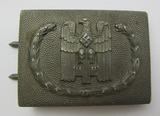 WW2 German DRK Red Cross Belt Buckle For EM