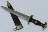 Early Third Reich SA Dagger With Scabbard-F. DICK Maker Marked