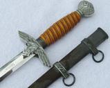 2nd Model Luftwaffe Officer's Dagger By SMF-Name Engraved Blade
