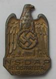 Early Third Reich NSDAP Nurnberg Rally Badge