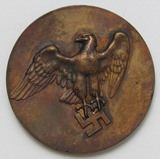 Scarce WW2 German Table Medallion-Awarded For Special Achievements In Animal Breeding