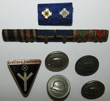 7pcs- Misc. German Ribbon Bars-