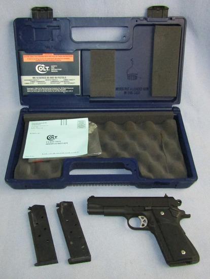 Colt M1991A1 Commander Model .45 ACP Semi Auto Pistol With Original Case
