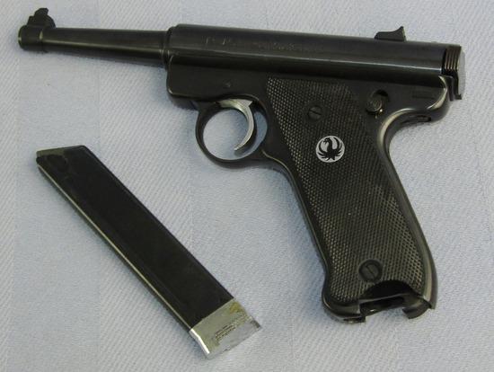 Sturm Ruger (Ruger) 2nd Series MK I .22 Cal. Semi Auto Pistol