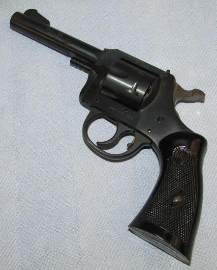 "H&R .32 Cal. 4th Variation Model 732 Revolver With Scarce 4"" Barrel"