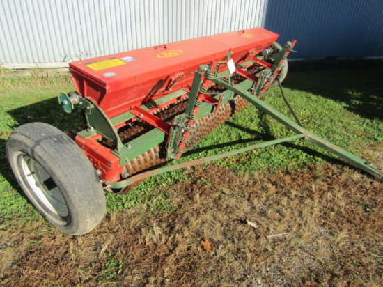 Brillion 10 Ft Seeder Acre Meter Track Scratchers Very