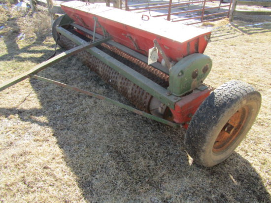 Brillion 10 Ft Grass Seeder Acre Meter SN 153946 Farm