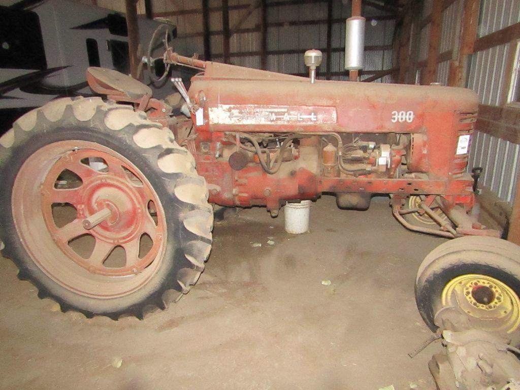 Lot: Farmall 300 Gas Tractor, Wide Front, TA, PTO, Single
