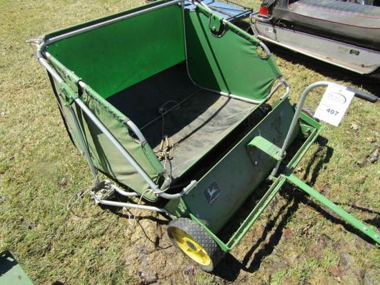 John Deere Model 38T Pull Type Lawn Sweeper