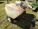 14 Gallon Pull Type 12 Volt Lawn Sprayer