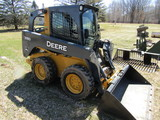 2012 John Deere Model 318D Diesel Skid Steer Loader, Power Tach Bucket Syst