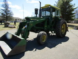 1966 John Deere Model 4020 Diesel Tractor, Power Shift, Good Firestone Deep
