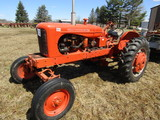1952 Allis Chalmers Model WD Gas Tractor, Wide Front, 2 Point, Live Power,
