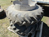 12.4 X 28 Inch Band Duals, Fit Allis WD