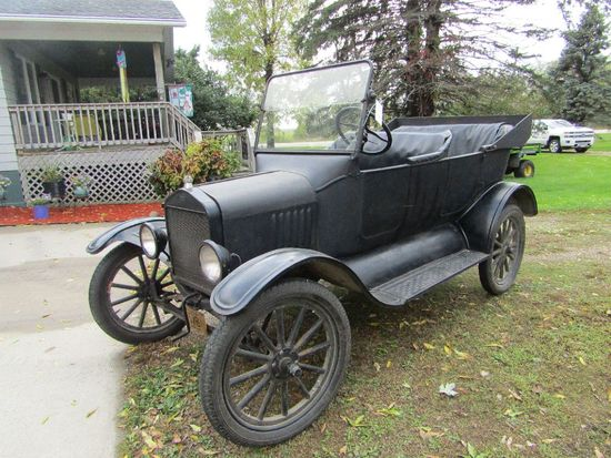 1923 Ford Model TT Touring, Original 4 Cylinder Flat Head Engine, Newer Rad