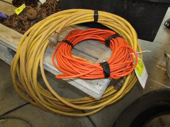 251-478 (2) 100 Ft. Extension Cords Sales Tax Applies