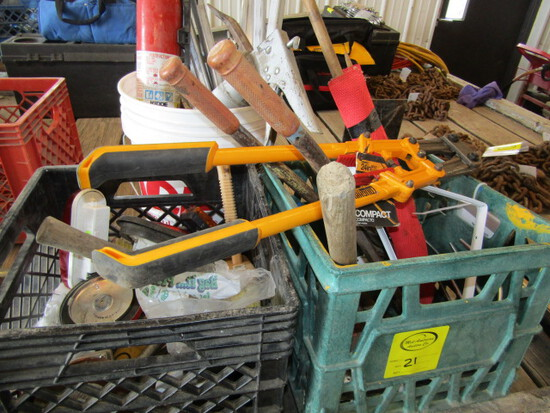 251. Misc. Tools Inc. Bolt Cutter, Maul, Fire Extinguisher, Sales Tax Applies