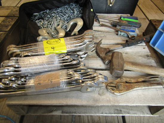 251. (4 ) Sets of Wrenches, Hammers, Hooks, Screw Drivers, Sales Tax Applies