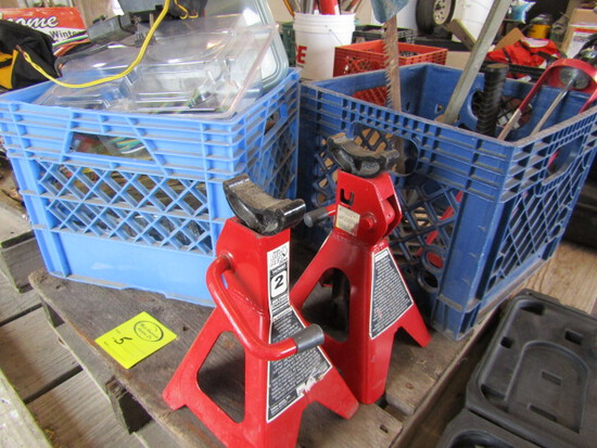 251 2 Jack Stands, Trailer Wiring Parts, Misc. Sales Tax Applies