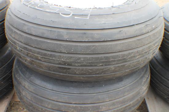 362. 257-790 (2) Unused 12.5L X 15 10 Ply Tires on 6 Bolt Rims, Your Bid X