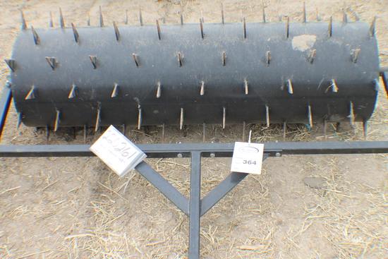 364. 220-261. 48 Inch Pull Type Lawn Aerator, Tax