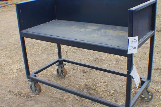 368. 255-653. 2 FT. X 4 FT. Steel Welding Table, Tax