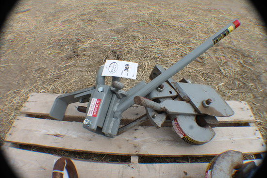 369. 278- Set of Tow & Wagon Agri Speed Hitches, Tax / Sign ST3