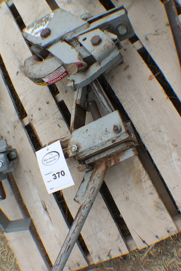 370. 278, Set of Tow and Wagon Agri Speed Hitches, Tax / Sign