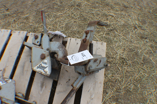 371. 278, Set of Tow and Wagon Agri Speed Hitches, Tax /Sign  ST3