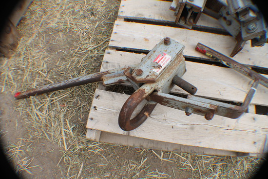 372. 278 One Wagon Only  Agri Speed Hitch, Tax / Sign ST3