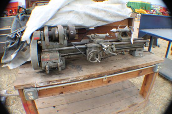 373. 363-847. South Bend 4 FT. Bed Metal Lathe, 110 V, Inverter, Tax