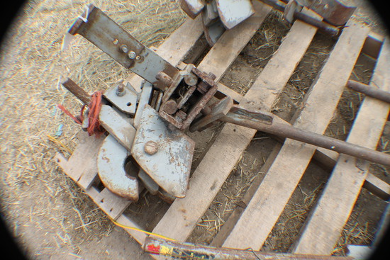 377. 380 Set of Tow and Wagon Speed Hitches, Tax / Sign ST3