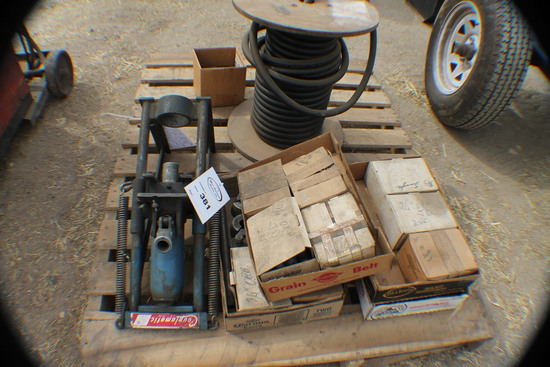 381. 203-302. Couplamatic Hose Crimper, Some Hole and Several Boxes of Vari